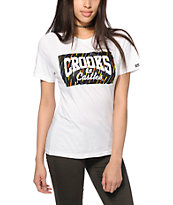 Crooks and Castles Mural Box Logo T-Shirt