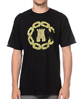 Crooks and Castles OGK And Castles Black Tee Shirt