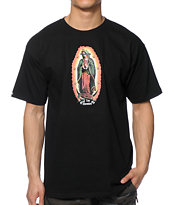 Crooks and Castles Our Lady Black Tee Shirt