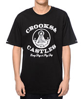Crooks and Castles Payday Black T-Shirt