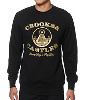 Crooks and Castles Payday Crew Neck Sweatshirt
