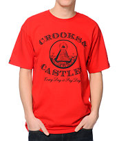 Crooks and Castles Payday Red Tee Shirt
