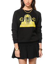 Crooks and Castles Pharaoh Cat Crew Neck Sweatshirt