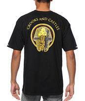 Crooks and Castles Pharaoh Leopard Black Tee Shirt
