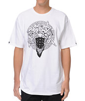 Crooks and Castles Primo White Tee Shirt