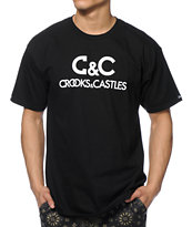 Crooks and Castles Regal Black Tee Shirt