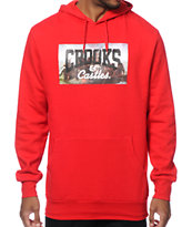 Crooks and Castles Represent Hoodie