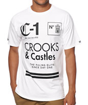 Crooks and Castles Ruling Elite T-Shirt