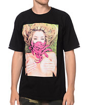 Crooks and Castles Snake Face Black Tee Shirt
