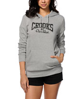 Crooks and Castles Squad Life Core Logo Pullover Hoodie