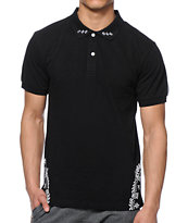 Crooks and Castles Squad Life Polo Shirt