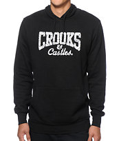 Crooks and Castles Squadlife Core Logo Hoodie