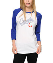 Crooks and Castles Starter Baseball Tee