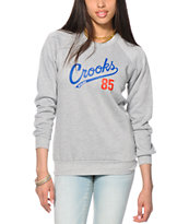 Crooks and Castles Starter Crew Neck Sweatshirt