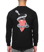 Crooks and Castles Strangler Long Sleeve Tee Shirt