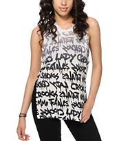 Crooks and Castles Streets Slit Muscle Tee