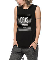 Crooks and Castles Strike Muscle Tee