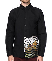 Crooks and Castles Takeover Button Up Shirt