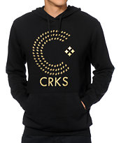 Crooks and Castles Thomas Crown Black Hoodie