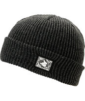 Crooks and Castles Union Craft Black Beanie