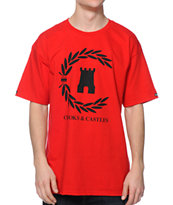 Crooks and Castles Victory Red Tee Shirt