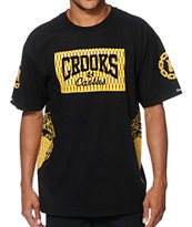 Crooks and Castles Villa Core Logo T-Shirt