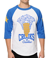 Crooks and Castles Villa Medusa Baseball T-Shirt