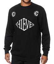 Crooks and Castles Villa Thieves Crew Neck Sweatshirt