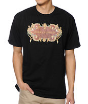 Crooks and Castles Violence Black Tee Shirt