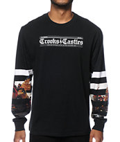Crooks and Castles Warfare Long Sleeve T-Shirt