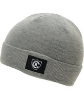 Crooks and Castles Women's Emblem Grey Fold Beanie