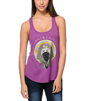 Crooks and Castles Women's Pharaoh Purple Racerback Tank Top