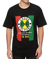 Cross Colours Flag Logo T-Shirt