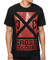 Cross Colours Oversize Cross Roads T-Shirt