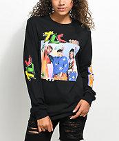 Cross Colours TLC Black Long Sleeve T-Shirt