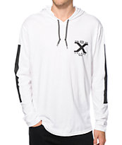 Cross Colours X Logo Hooded Shirt
