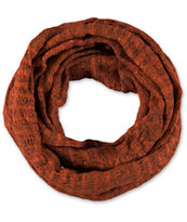 D&Y Dark Red Heather Knit Infinity Scarf