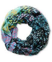 D&Y Multicolor Space Geo Infinity Scarf