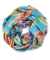 D&Y Tropical Infinity Scarf