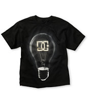 DC Boys Bright Idea Black T-Shirt