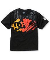 DC Boys KB Stroke Star Black T-Shirt