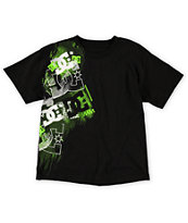 DC Boys Pad Black Tee Shirt
