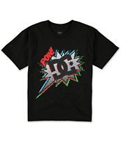 DC Boys Pow Black Tee Shirt