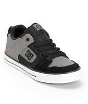 DC Boys Pure Charcoal & Black Skate Shoe