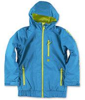 DC Boys Ripley 10K Blue 2014 Snowboard Jacket