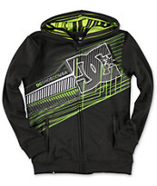 DC Boys Whisky Throttle Black Zip Up Hoodie