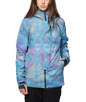 DC Data 15 Constrictor Blue 10K Snowboard Jacket