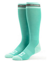 DC Girls Ice Breaker Aqua Snowboard Socks