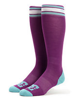 DC Girls Ice Breaker Purple Snowboard Socks