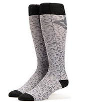 DC Girls Playtime Panther Print Snowboard Socks